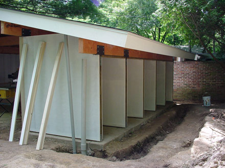 carport side construction