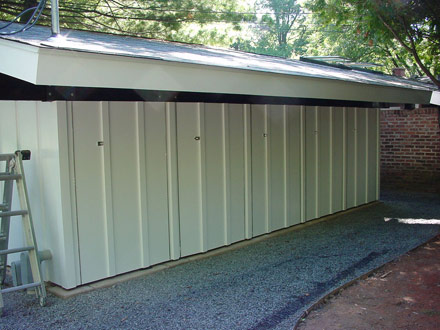 carport side finish