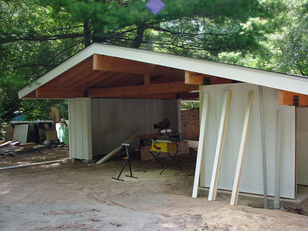 carport front finish